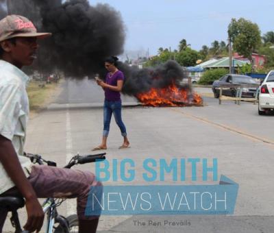 Police ranks hospitalized, protester killed in election results clash