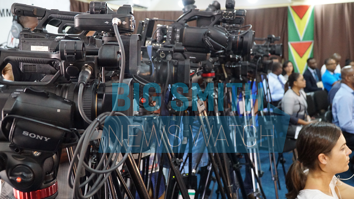 Top Cop, GECOM, Parties allowed tense atmosphere for media workers; Press body dissatisfied