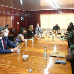 NO PERMISSION GRANTED: GDF delets images of Army meeting with ABCE Diplomats