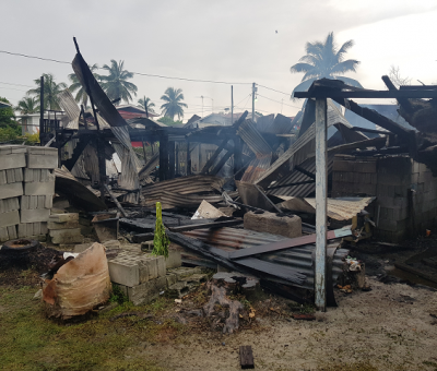 68-Y-O among four homeless after Mon Repos fire
