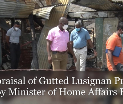 Lusignan Prison conditions unsatisfactory- Home Affairs Minister