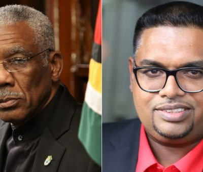 Irfaan Ali retires David Granger after 5 months election declaration battle