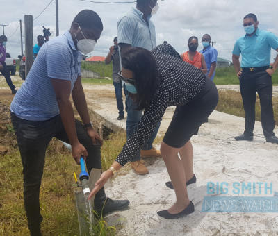 'We don't want no haphazard connection'- Residents tell Water Minister