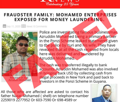 No money laundering probe involving Mohamed Enterprise ongoing- Police PRO