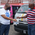 Police Force distributes close to 5000 masks last weekend