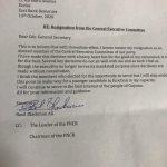 Granger's trusted friend dumps PNC; mentions lack of consultation