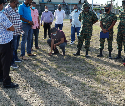 Grounds Enhancement: 'This is no sweaty start' - Sports Minister