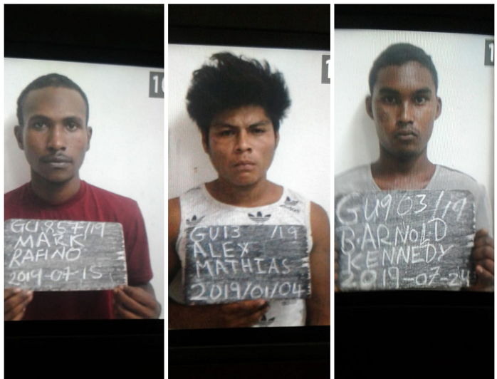 BREAKING: Three murder accused escape from Lusignan Prison