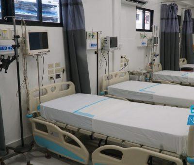 20 doctors, 58 nurses to staff recommissioned Diamond 'Smart Hospital'