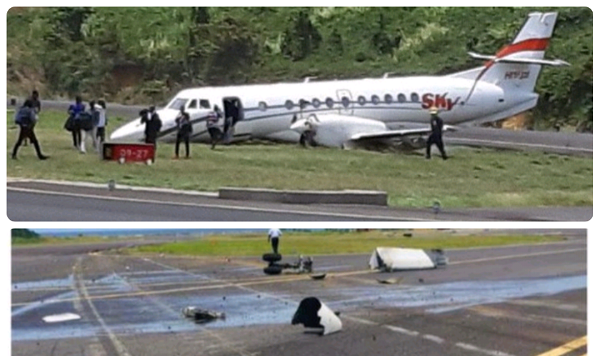 Airline with accident on Dominica runway wants to operate in Guyana