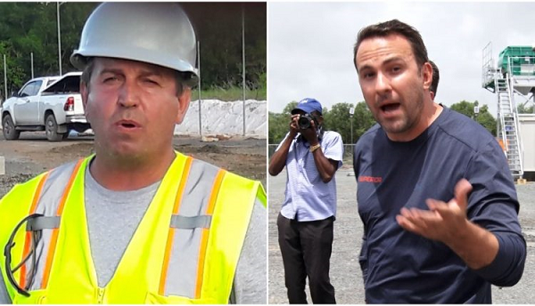Wrong and strong foreign company 'Superior Concrete Inc.' disrespects Gov.'t Minister